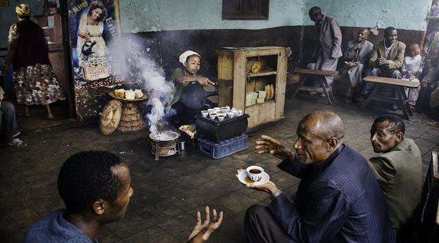 кофе эфиопия джимма в зернах купить в интернет магазине, кофейная церемония в эфиопии