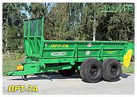 Машина для внесения твердых органических удобрений ПРТ-7А (7.3т) Бобруйскагромаш (Белоруссия)