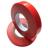 Лента для подвязки (для степлера, тапенера) красная 110 мкм, 30 м