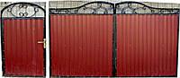 Ворота распашные № 4