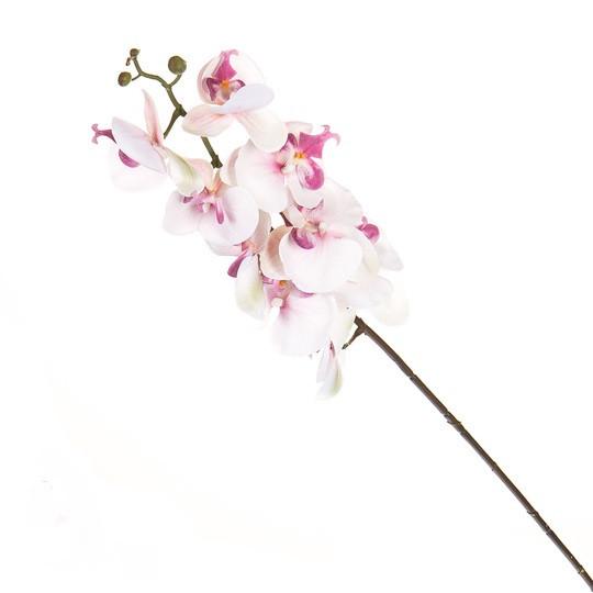 Орхидея белая ( силикон 97 см.)