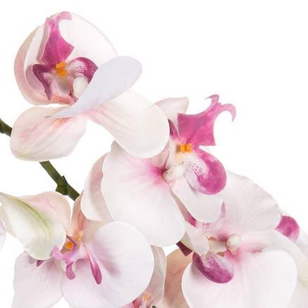 Орхидея белая ( силикон 97 см.), фото 2
