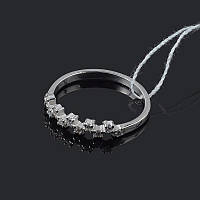Изящное серебряное кольцо маленький размер