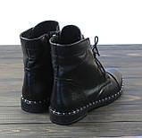 Ботинки женские на шнуровке Lonza L-131-2121 размер, фото 4