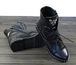 Ботинки женские на шнуровке Lonza L-131-2121 размер, фото 2