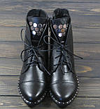 Ботинки женские на шнуровке Lonza L-131-2121 размер, фото 3