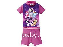 Купальный костюм, купальник детский на девочку My Little Pony 6-12 мес, рост 74/80