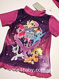 Купальний костюм, купальник дитячий на дівчинку My Little Pony 6-12 міс, ріст 74/80, фото 7