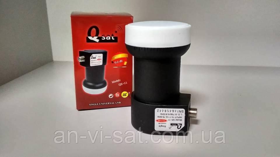 Супутниковий конвертор Q-sat QK-11 single