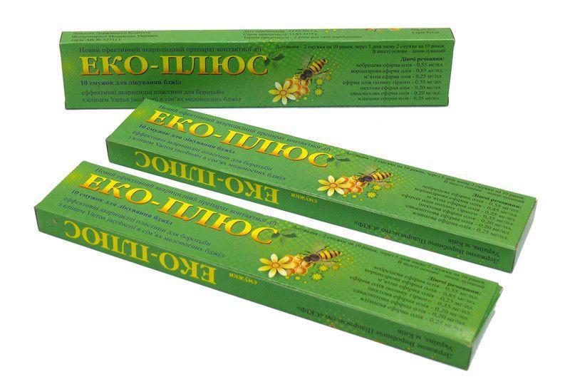 ЕКО ПЛЮС (без антибиотика на травах) 10 полосок.