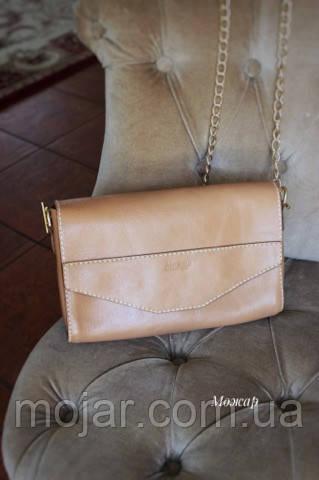 Жіноча молодіжна сумочка  «Ліза» з натуральної шкіри