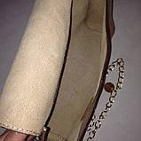 Жіноча молодіжна сумочка  «Ліза» з натуральної шкіри, фото 5