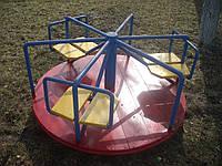 Карусель детская игровая уличная