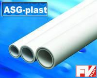 Труба ПН 20  63x10.5 мм. со стекловолокном ASG Plast/FV Plast
