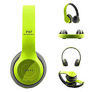 Bluetooth наушники MDR P47 (ЗЕЛЕНЫЕ)
