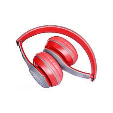 Bluetooth наушники MDR P47 (КРАСНЫЕ), фото 2