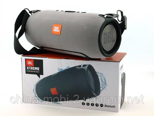 JBL Xtreme (540) 40W копия, Bluetooth колонка с FM MP3, серая, фото 2