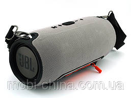 JBL Xtreme (540) 40W копия, Bluetooth колонка с FM MP3, серая, фото 3
