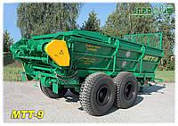 Машина для внесения твердых органических удобрений МТТ-9 (9.5 т.) Бобруйскагромаш (Белоруссия)