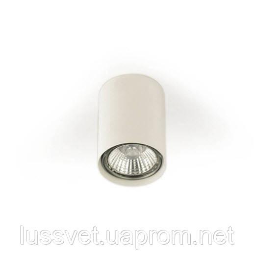 Світильник накладної у формі циліндра Mycom чорний білий
