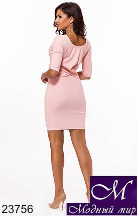 Облегающее платье на стройную фигуру (р. 42, 44) арт. 23756, фото 2