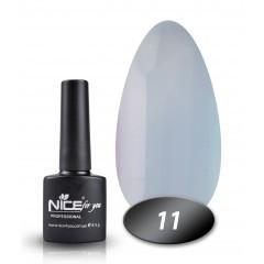 Гель-лак Nice for you № 11 (серый), 8,5 мл