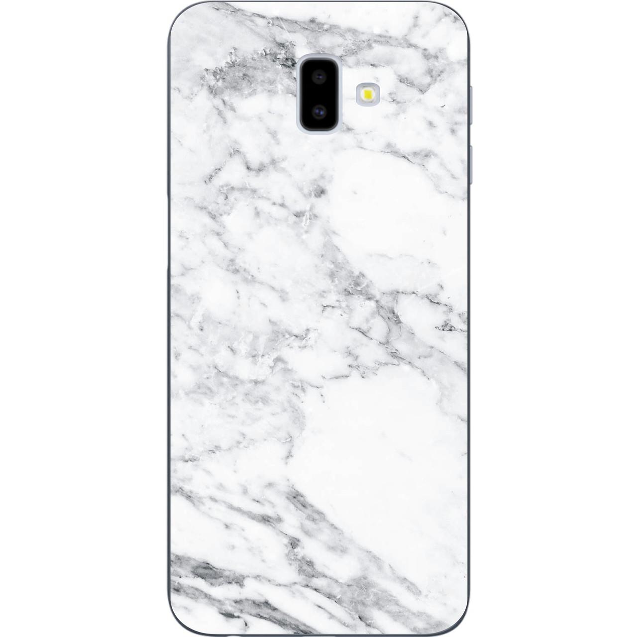 Оригінальний чохол накладка для Samsung Galaxy J6 Plus 2018 з картинкою Мармур