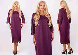 Платье женское нарядное и повседневное деловое размеры: 52-60, фото 3