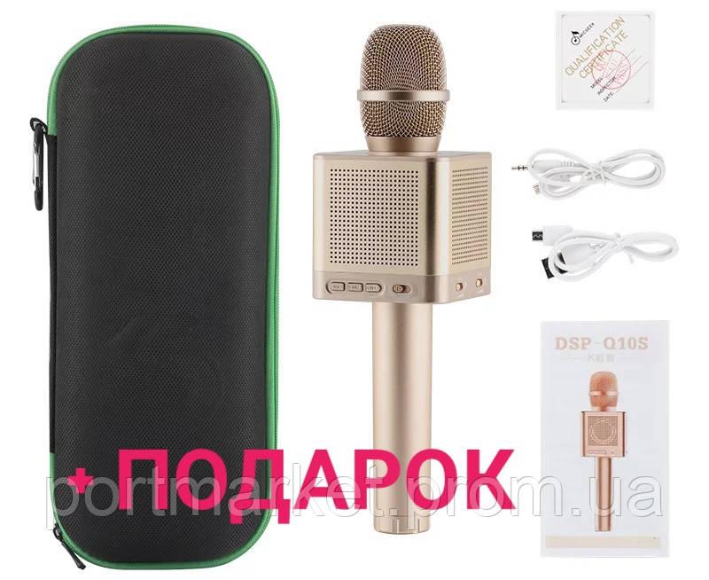 Беспроводной караоке микрофон Bluetooth MicGeekq Q10S