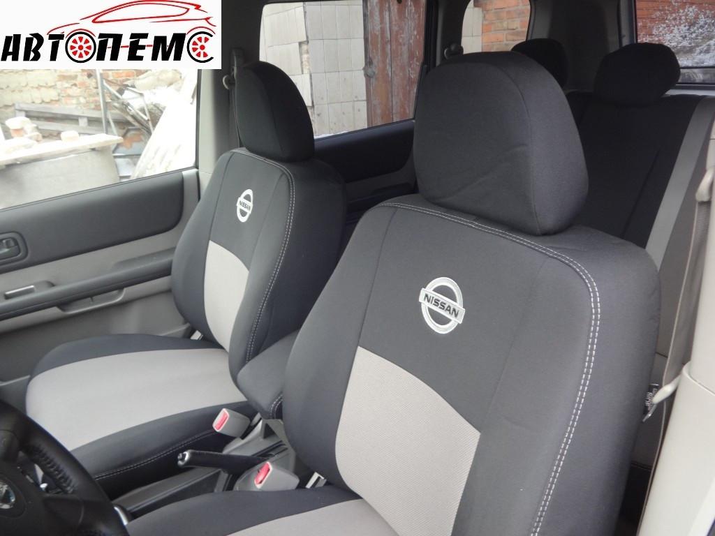 Чехлы на сиденья Nissan Qashqai I+2 (7 мест) c 2009 г. ТМ Элегант тканевые.