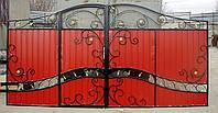Ворота распашные № 15