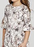 Чудова сукня з льону для дівчинки 128-152р, фото 3