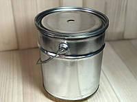 Ведро металлическое 3л с крышкой и ручкой