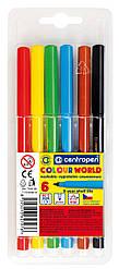 Фломастеры Centropen 6 цв Colour World