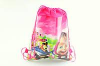 Сумка-рюкзак детская Маша и Медведь