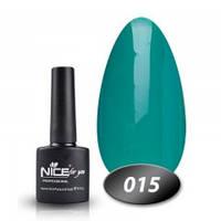 Гель-лак Nice for you № 15 (зелено-изумрудный), 8,5 мл