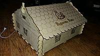 Брудер для цыплят - деревянный домик Курочка Ряба