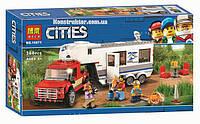 """Конструктор Bela 10871 City """"Дом на колесах"""" 360 деталей. Аналог LEGO City 60182, фото 1"""