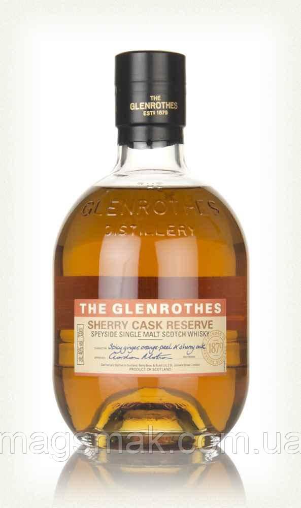 Виски The Glenrothes Sherry Cask Reserve / Гленротс Шерри Каск Резерв 40% 0.7л
