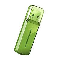 USB флешка Silicon Power Helios 101 Green 64 GB, фото 1