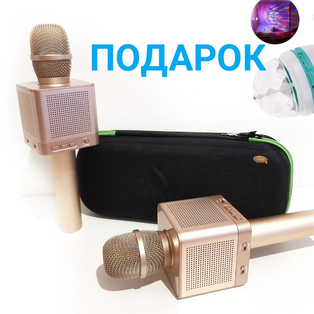 Беспроводной караоке микрофон Bluetooth MicGeekq Q10S.
