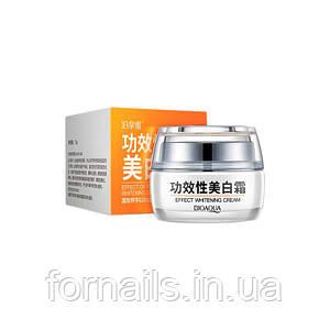 BIOAQUA Effect Whitening Cream, Крем для лица отбеливающий с клюквой, 30 г