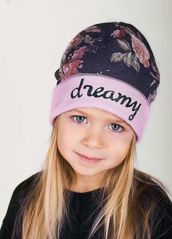 Детская шапка Элиза для девочек оптом размер 50-52