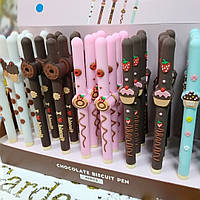 """Ручка гель. Пирожное """"Chocolate biscuit"""""""