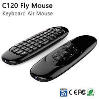 Аэромышь, Клавиатура с гироскопом воздушная мышь пульт Android TV Smart