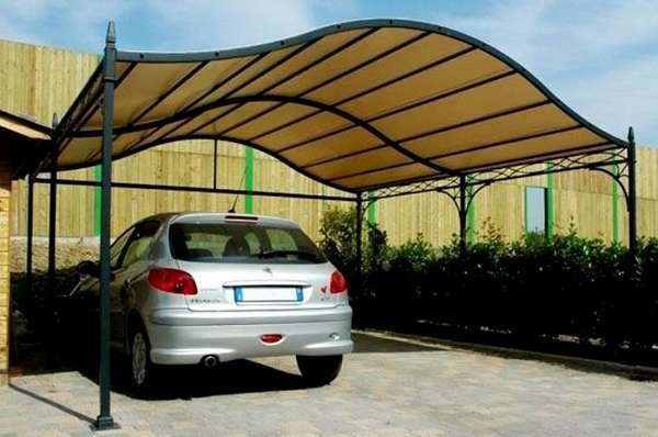 Навесы из поликарбоната для автомобилей