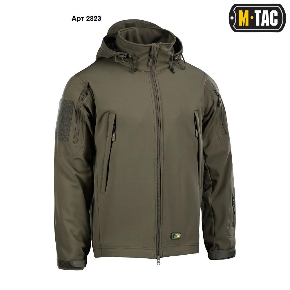 M-Tac куртка Soft Shell Olive