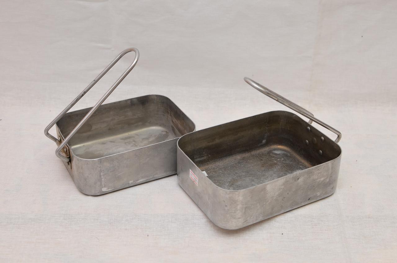 Набо посуды (сковородки) армии Голландии Б\У 2 сорт (аллюминий)