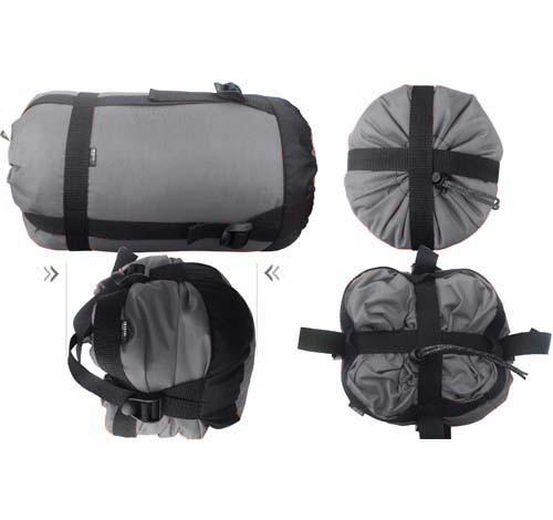 Компрессионный мешок для зимнего спальника ТР ЕКС серый