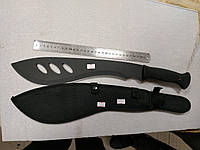 """""""Мачете"""" Черный(K440) с фиксированным клинком"""